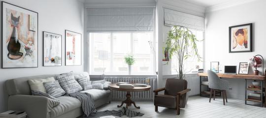 Möbliertes Apartment (panoramisch)