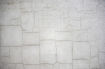 White wall with gaps, vintage texture, high resolution picture
