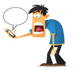 Alarm Message On Phone