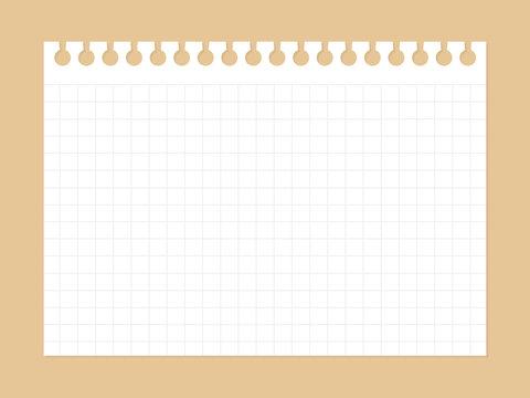 ノート用紙02