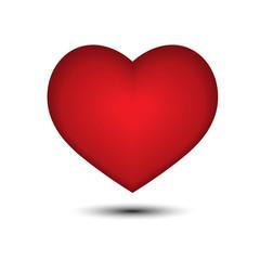 Happy valentine day. Vector illustration of valentine day on whi