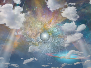 Eye of God  Some elements provided courtesy of NASA