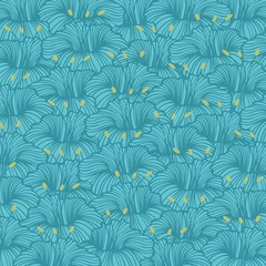 Stylized flowers with graceful lines