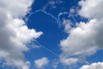 Heart in the sky, Valentine's Day