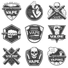 Vintage Vape Labels