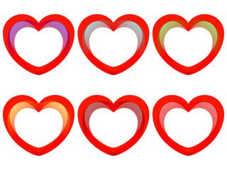 love heart vector,icon