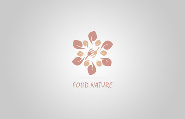 food nature restaurant logo
