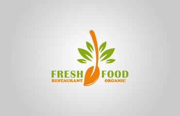 fresh food restaurant logo