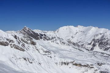 Tuxer Ferner Glacier in Austria, 2015