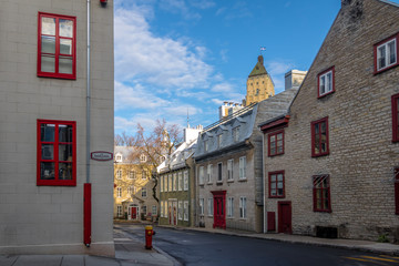 Fotomurales - Architecture of Old Quebec - Quebec City, Canada