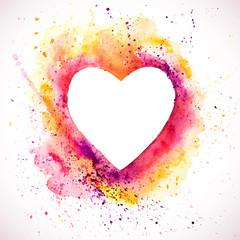 Heart-splash-frame