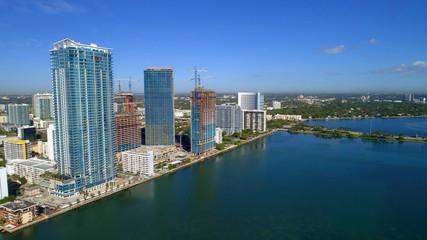 Stock photo of Edgewater Miami Florida USA