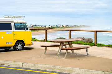 Picnic table at Middleton Beach