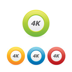 Colorful 4K Icons