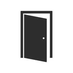 Door - vector icon.