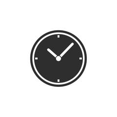 Clock - vector icon.