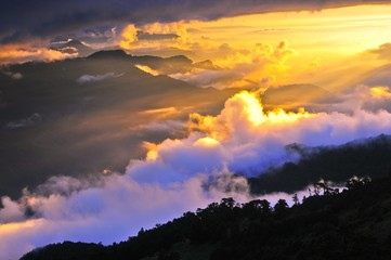 Snow, rare in the rest of Taiwan, is relatively common on the mountain during winter months. The Hehuanshan Road leads most of the way up the mountain to Wuling, a saddle between the Main Peak and the