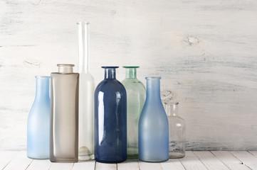 Various bottles set