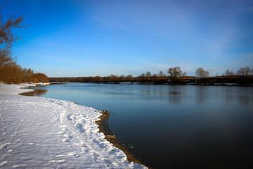 Очаровательная русская зима, Бронницы, Московская область, Россия