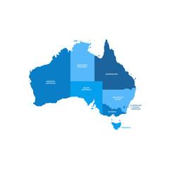 Australia Regions Map