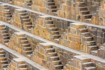 Steps at Chand Baori