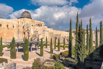 Jerusalem Old City, Al-Aqsa Mosque, Israel.