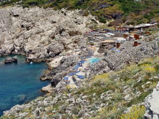 Capri, Spiaggia di Punta Carena