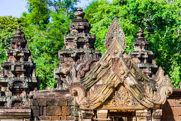 Towers of Banteay Srei