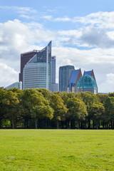 Modern buildings of den Hague