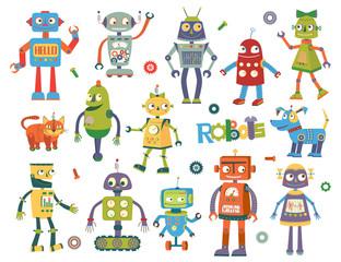 Set of vector robots