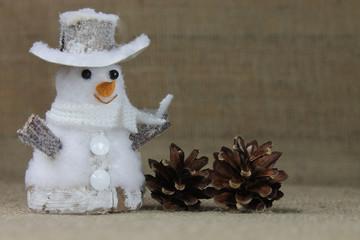 Snowman in detail