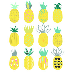Pineapple set.