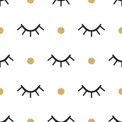 Eye seamless pattern