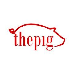 Pig Pork Icon Logo Vector