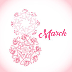Background for womans day