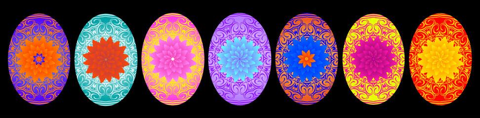 Easter rozpisnye eggs for Easter holiday