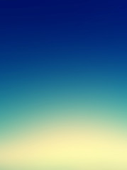 Beautiful sunset sky / Blue Colors Sunset sky wallpaper, vintage