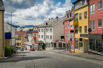Kristiansund streets, Norway.