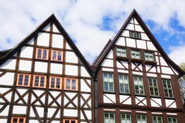 Historisches Fachwerkhaus in Deutschland