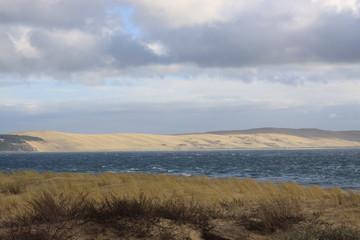 Au loin les dunes du Pilat !