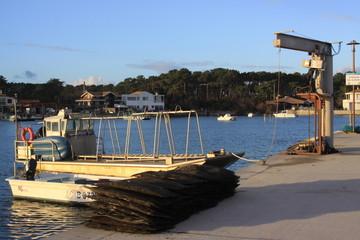 Port Ostréicole! dans le bassin d'Arcachon!