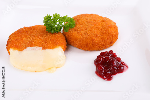 Gebackener Camembert Stock Photo And Royalty Free Images On Fotolia