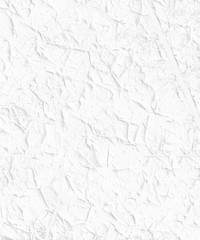 White stucco painted wall texture with ridges