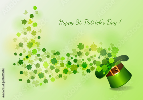 St Patrick S Day Background Royalty Free Stock Image