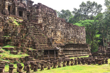 Tower and galleries in Angkor Thom, Baphuon Temple
