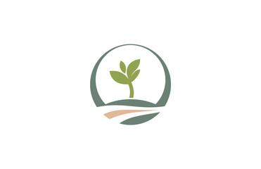 tree landscape logo
