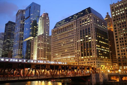 Chicago Bridge and River