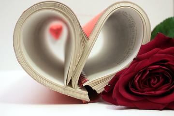 rose e cuore