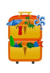 valigie per vacanze