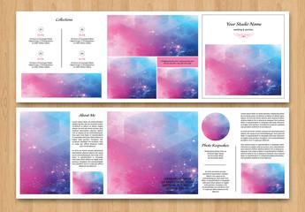 Grid Style Wedding Photography Brochure 1